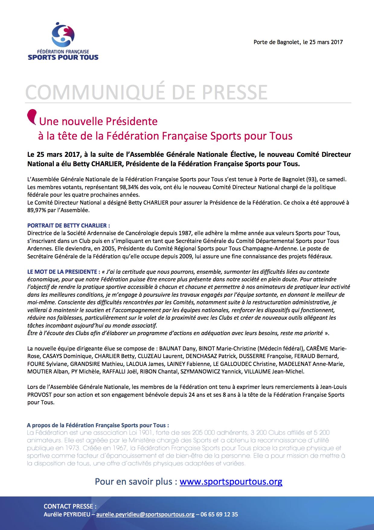 CP-Une nouvelle Presidente _ la Federation Fran_aise Sports pour Tous (1).png